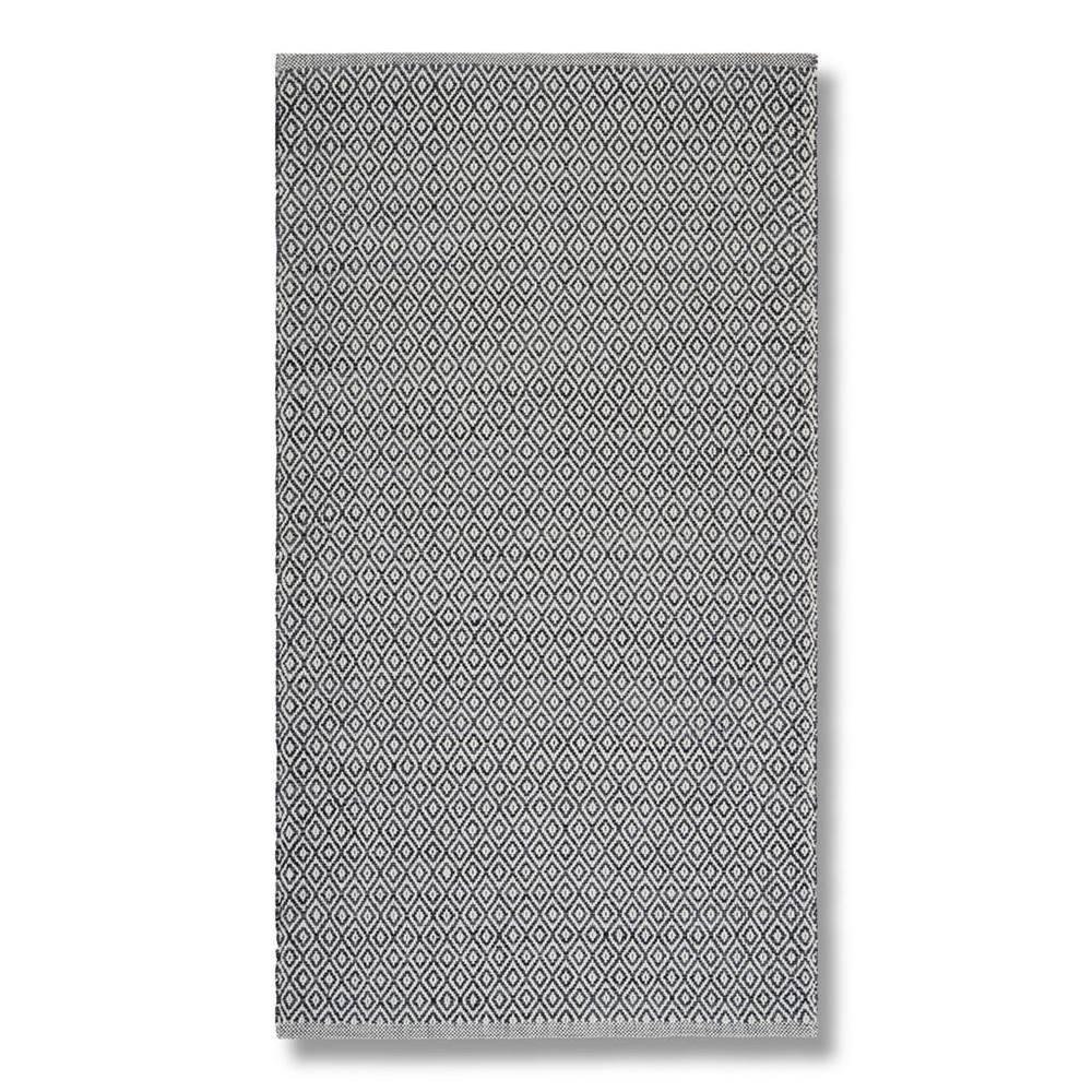 Möbelix Ručné Tkaný koberec Carola 2, 80/150, sivá