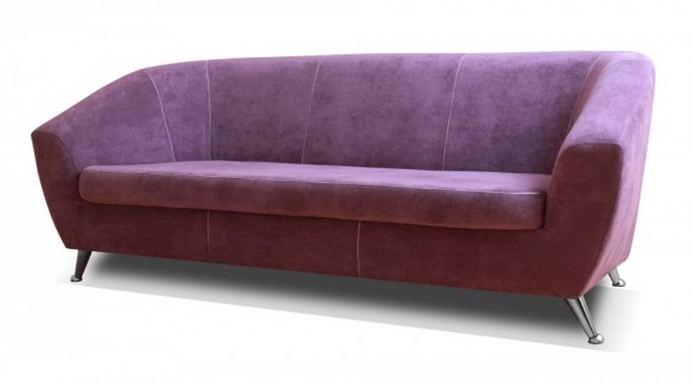 OKAY nábytok Trojsedačka Lira fialová