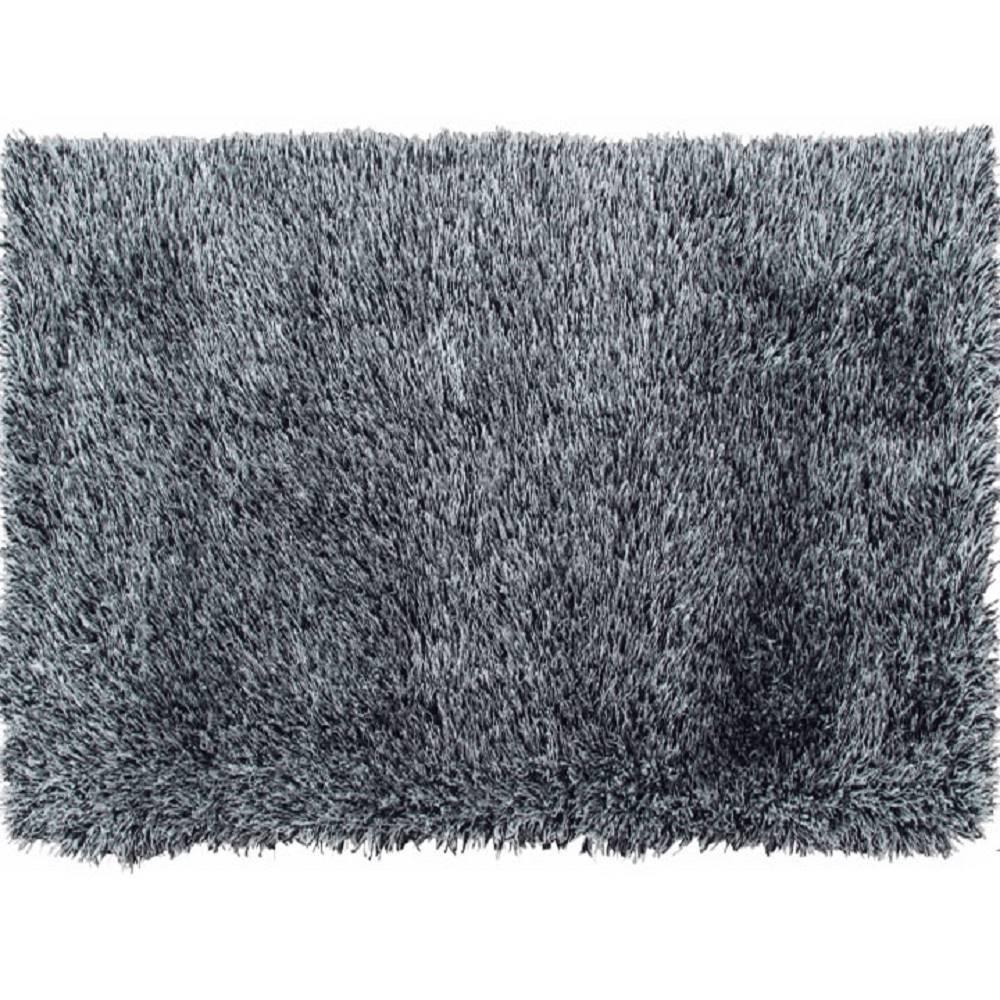 Koberec krémovo-čierna 170x...